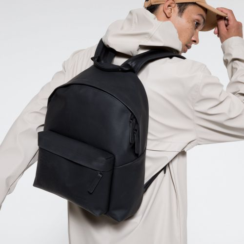 Padded Pak'r® Ath-leather Black Backpacks by Eastpak - view 5