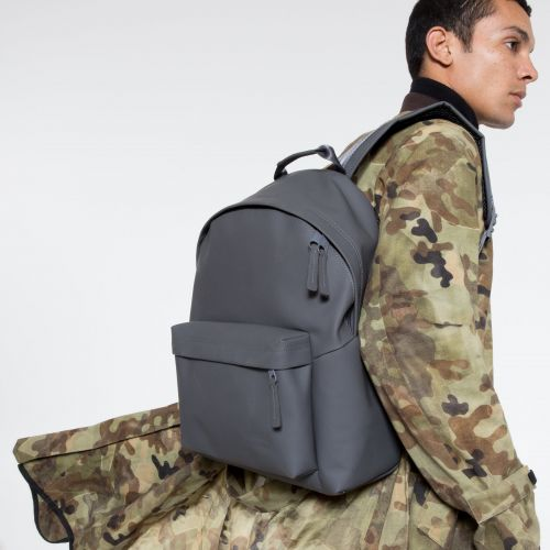 Padded Pak'r® Ath-leather Grey Backpacks by Eastpak - view 5