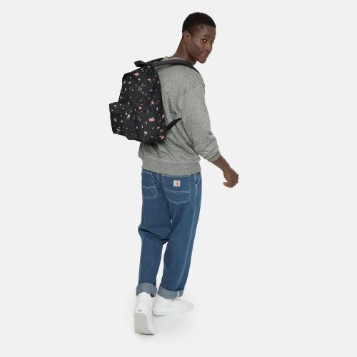 Padded Pak'r® Carnation Black Around Town by Eastpak - view 5