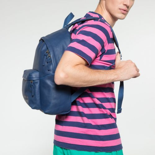 Padded Pak'r® Blue Leather Leather by Eastpak - view 5