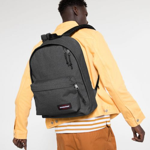 Out Of Office Black Denim Backpacks by Eastpak - view 5