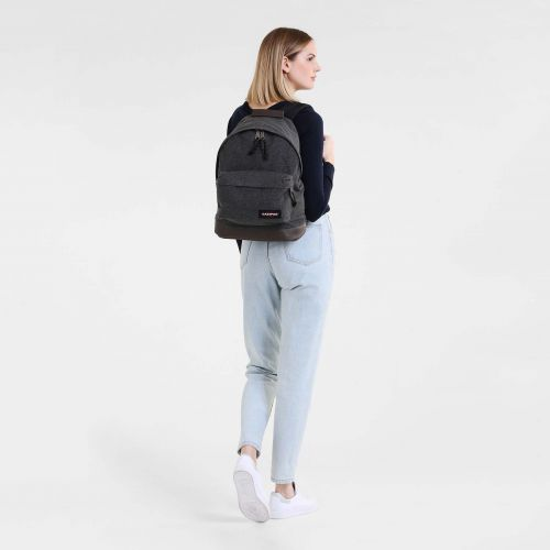 Wyoming Black Denim Basic by Eastpak - view 5