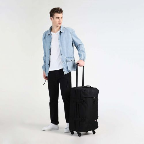 Trans4 M Black Large Suitcases by Eastpak - view 5