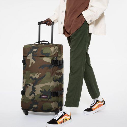 Trans4 L Camo Large Suitcases by Eastpak - view 5