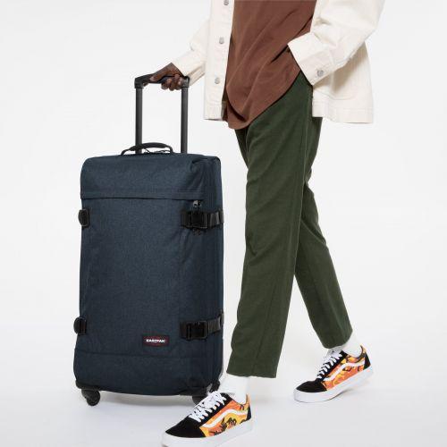 Trans4 L Triple Denim Luggage by Eastpak - view 5