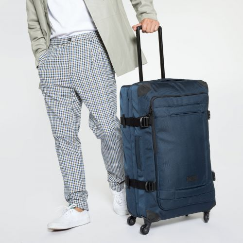 Trans4 CNNCT L Navy Large Suitcases by Eastpak - view 5