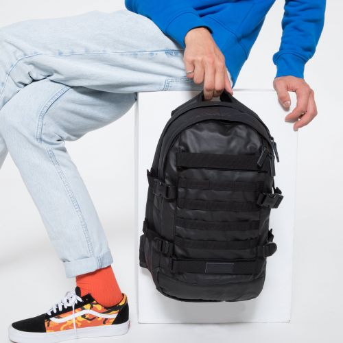 Floid Tact Topped Black by Eastpak - Front view