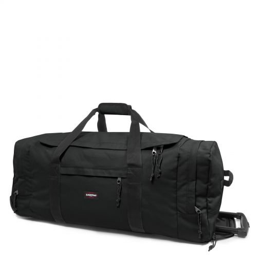 Leatherface L Black Large Suitcases by Eastpak - view 6