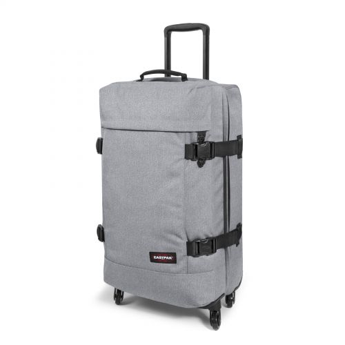 Trans4 M Sunday Grey Large Suitcases by Eastpak - view 6