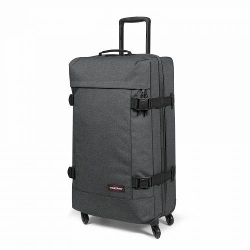 Trans4 L Black Denim Large Suitcases by Eastpak - view 6