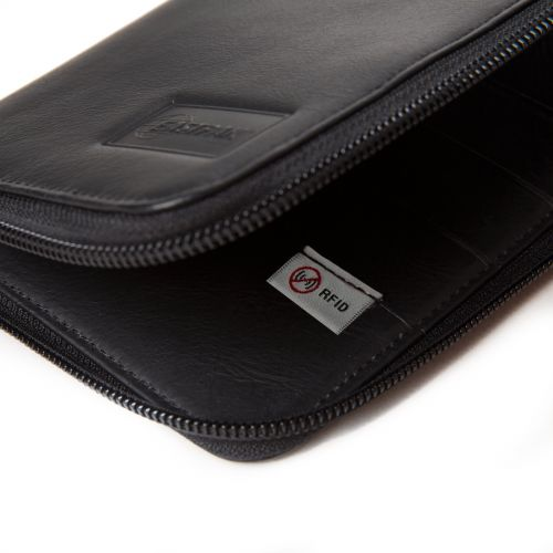 Tait RFID Black Ink Leather Wallets & Purses by Eastpak - view 7