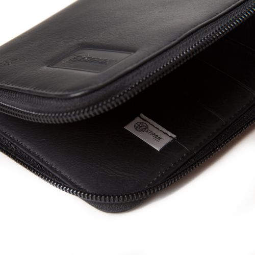 Tait Black Ink Leather Wallets & Purses by Eastpak - view 7