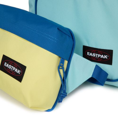 Padded Travell'r Blocked Blue Travel by Eastpak - view 7