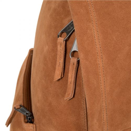 Padded Sleek'r Suede Rust Leather by Eastpak - view 7