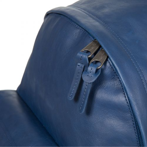 Padded Pak'r® Blue Leather Leather by Eastpak - view 7