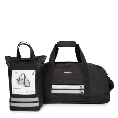 Stand + Reflective Black Weekend & Overnight bags by Eastpak - view 7