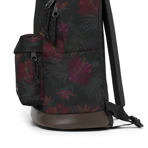 Wyoming Mesh Black Hibiscus Study by Eastpak - view 7