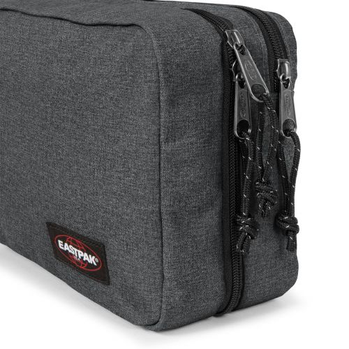 Mavis Black Denim Toiletry Bags by Eastpak - view 7