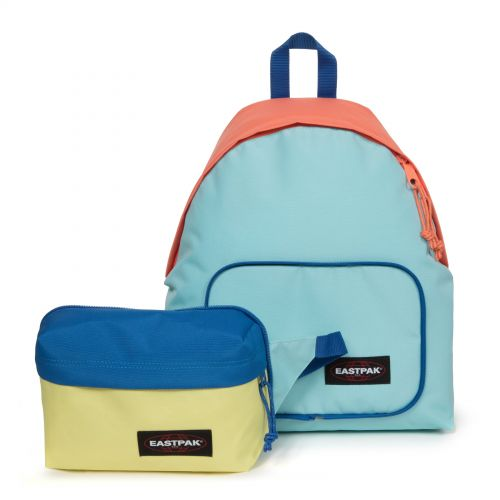 Padded Travell'r Blocked Blue Travel by Eastpak - view 8