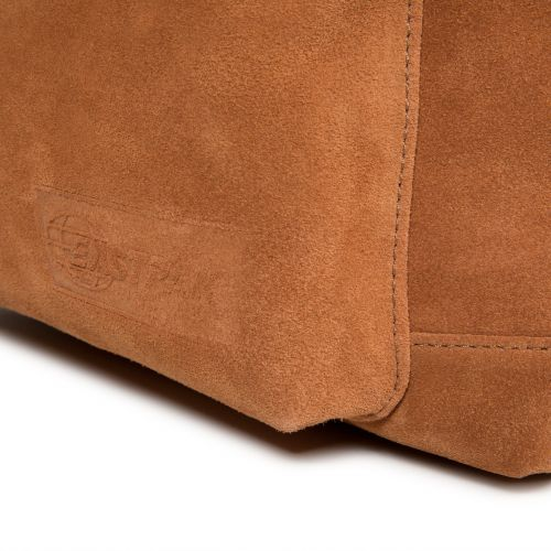 Padded Sleek'r Suede Rust Leather by Eastpak - view 8