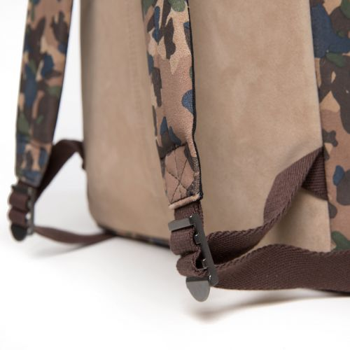 Padded Pak'r Camo Suede Leather by Eastpak - view 8