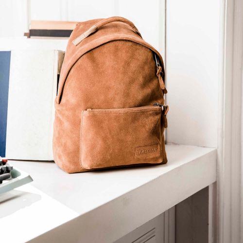 Orbit Sleek'r Suede Rust Leather by Eastpak - view 9