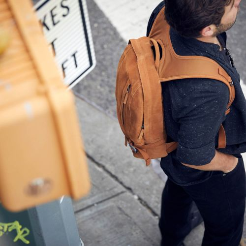 Floid Suede Rust Leather by Eastpak - view 9