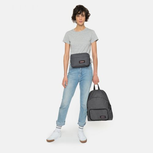 Padded Travell'r Black Denim Travel by Eastpak - view 9