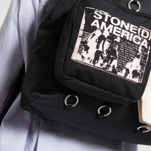 Raf Simons Padded Doubl'r Beige America Special editions by Eastpak - view 9