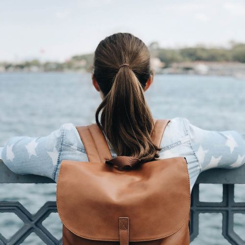 Ciera Brownie Leather Leather by Eastpak - view 9